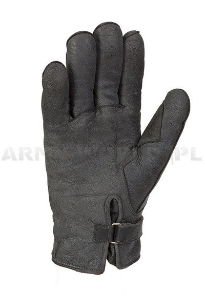 Military Dutch Gloves Leather Winter Roecki Used