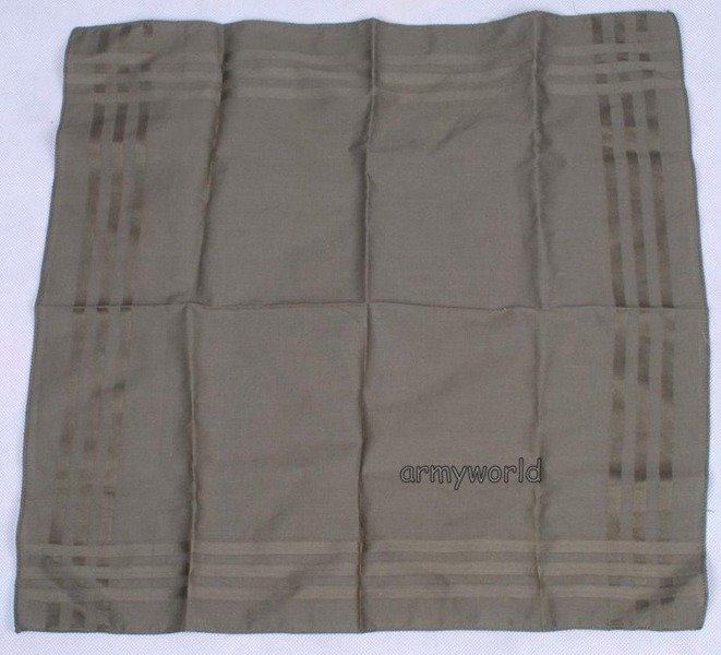 Military Dutch Handkerchief Oliv Original Demobil