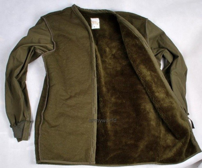 Military Dutch Lining To Jacket Original Demobil New