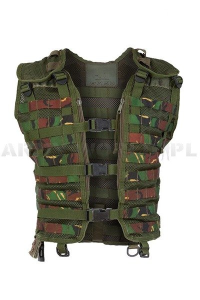 Military Dutch Modular Vest DPM Original Demobil