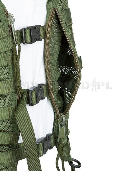 Military Dutch Modular Vest Oliv Original Demobil