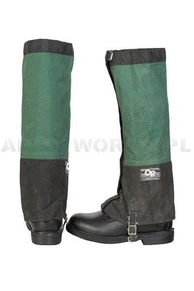 Military Dutch Protectors/Gaiters OR Black & Green Original Demobil
