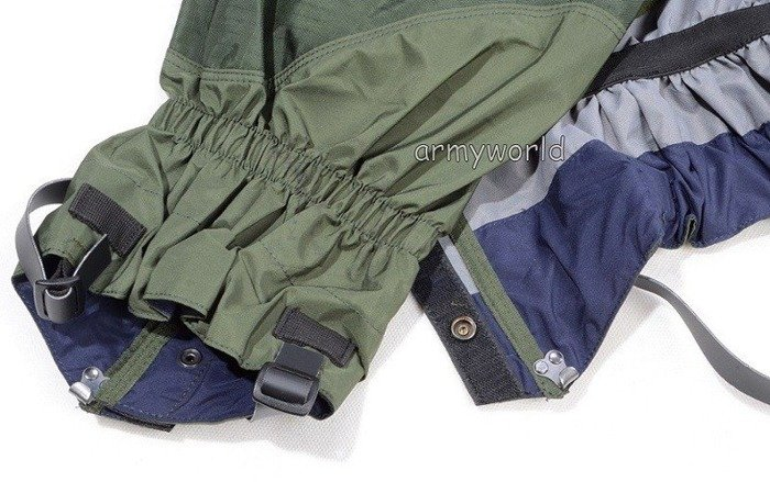 Military Dutch Protectors/Gaiters Oliv Original Demobil