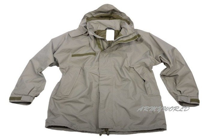 Military Dutch Rainproof Jacket Oliv Original Demobil