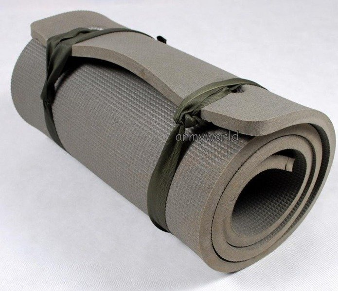 Military Dutch Rolled Up Sleeping Mat 18 mm Original Demobil