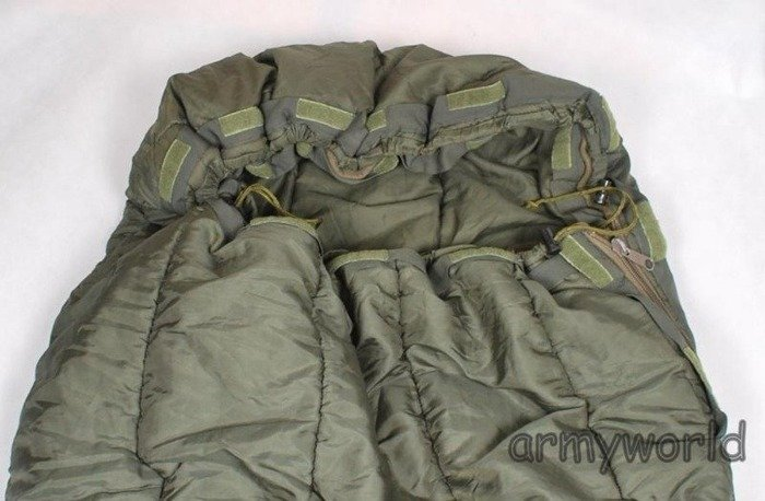 Military Dutch Sleeping Bag EXTREME COLD Model II Up To - 30 degrees Celsius Synthetic Original Demobil
