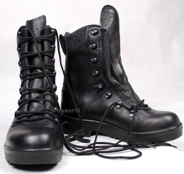 Military Dutch Tactical Shoes Model 2005 Original Demobil New