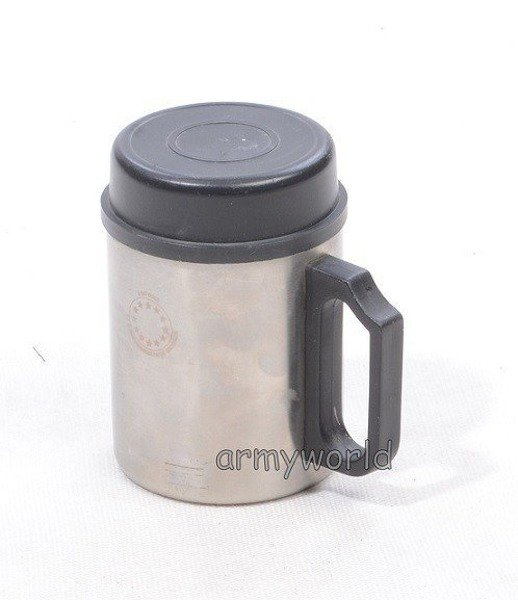 Military Dutch Thermal Mug Stainless Steel With Lid Demobil