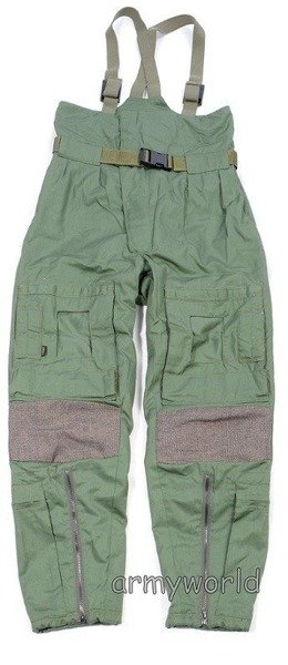 Military Dutch Trousers  NOMEX - GORE-TEX Summer Version Oliv Original Demobil