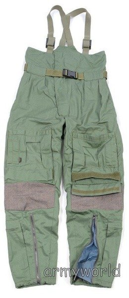 Military Dutch Trousers NOMEX - GORE-TEX Winter Version Oliv Original Demobil