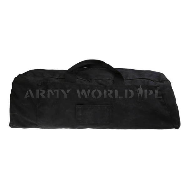 Military Dutch Trvel Bag Transportation Bag Black Original Demobil