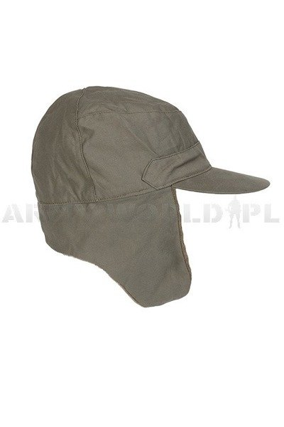 Military Dutch Ushanka Cap Oliv Original New