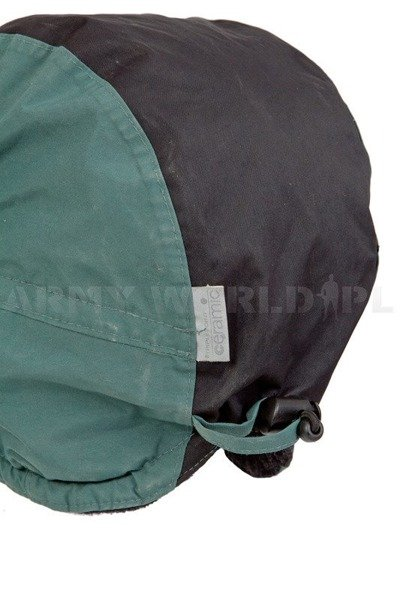 Military Dutch Ushanka Cap Waterproof With Fleece LOWE ALPINE Triplepoint Ceramic Green Used