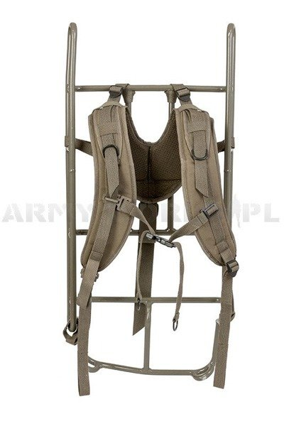 Military External Backpack Frame With Straps Original Used
