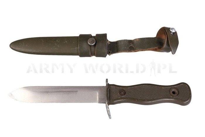 Military Fighting Knife KAMPFMESSER Bundeswehr Original Demobil Perfect Condition
