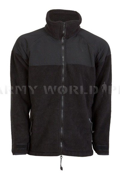 Military Fleece Jacket US Army Cold Weather Black Original New