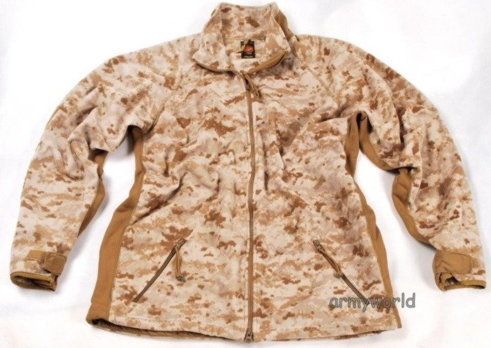 Military Fleece Jacket US Army Marpat Digital USMC Original Demobil