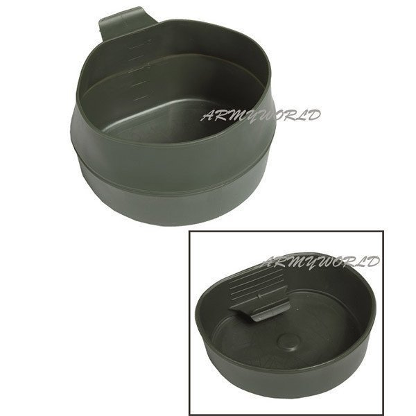 Military Folding Cup FOLDACUP Swedish Patent Original Demobil