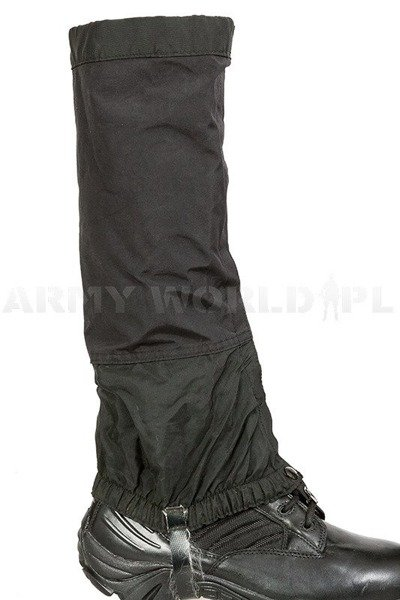 Military Gaiters Outdoor Research Goretex Black Used