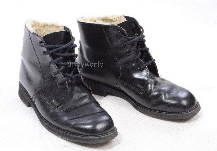 Military Gala Shoes Warmed High Original Demobil SecondHand