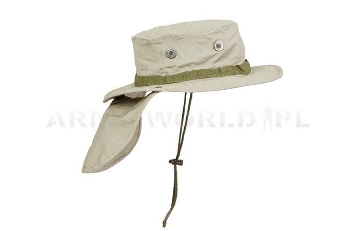 Military Hat Bonnie Hat Armyworld Khaki New