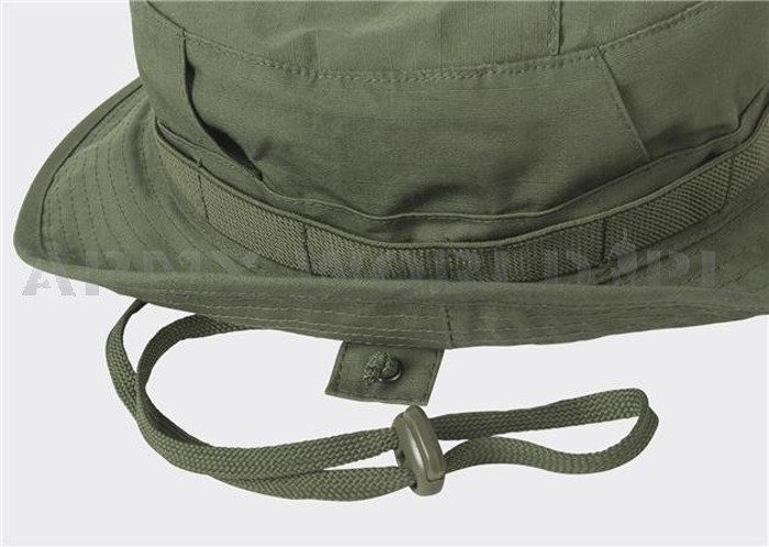 Military Hat Model CPU - Cotton Ripstop - Helikon-Tex Oliv Green New