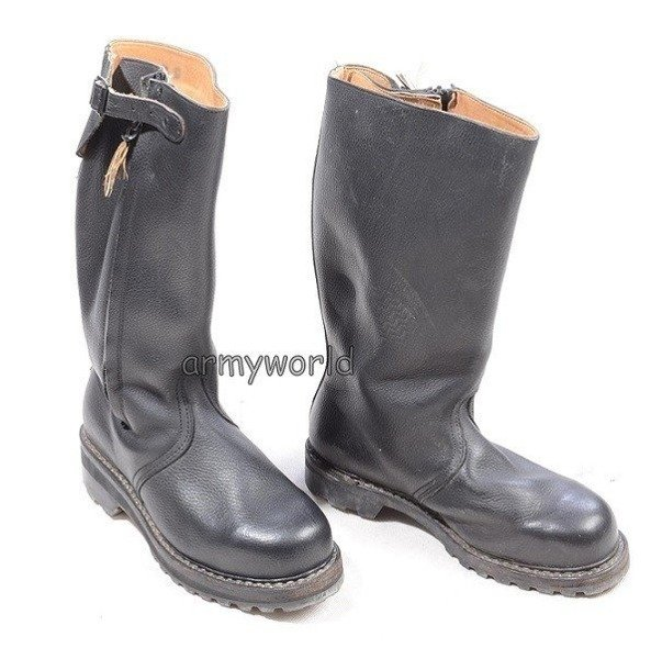 Military Jackboots Warmed with Fur With ZipperOrthopedic Sole Original