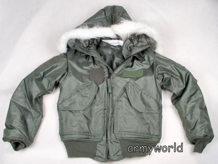 Military Jacket CWU Cold Weather 45/P US ARMY Original Demobil