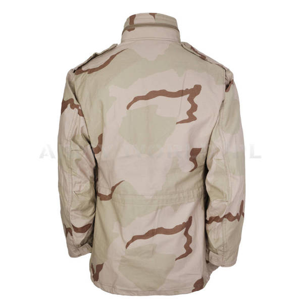 Military Jacket Model M65 US Army 3-Color Original Demobil