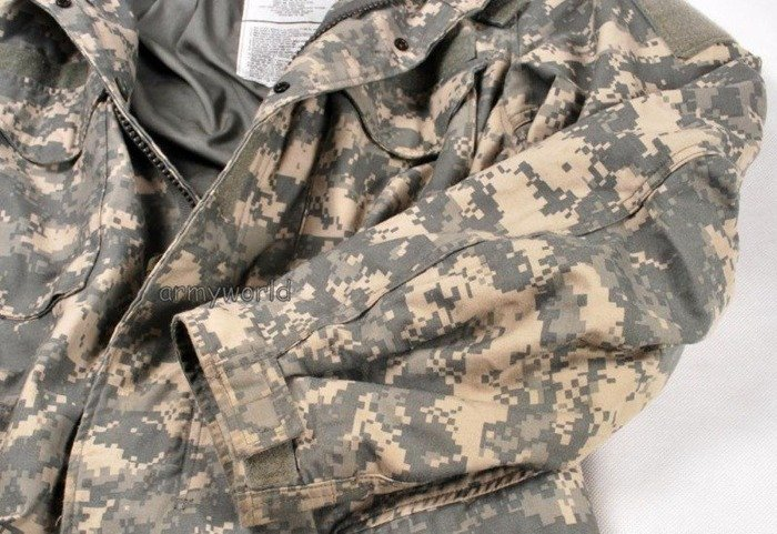 Military Jacket Model M65 US Army ACU Original Demobil
