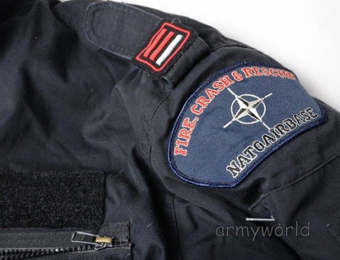Military Jacket US ARMY Albatros With Patches Awacs Original Demobil