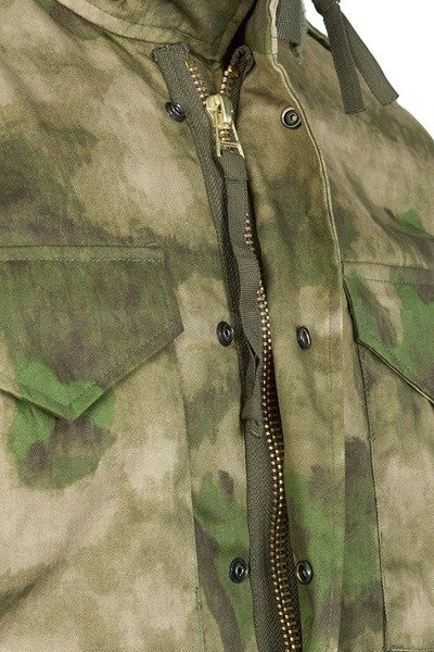 Military Jacket With liner Model M65 Mil-tec Camouflage Mil-Tacs FG New