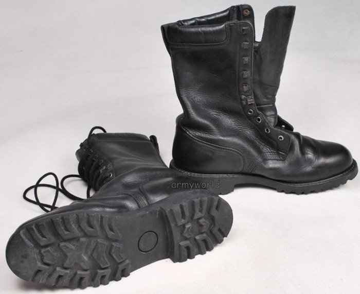 Military Leather French Shoes With Gore-Tex Membrane Good State Demobil