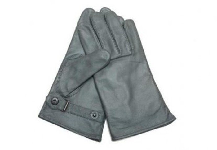 Military Leather Gloves Bundeswehr Winter Version Original Demobil