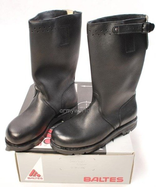 Military Leather Jackboots BundesMarine BALTES Original New