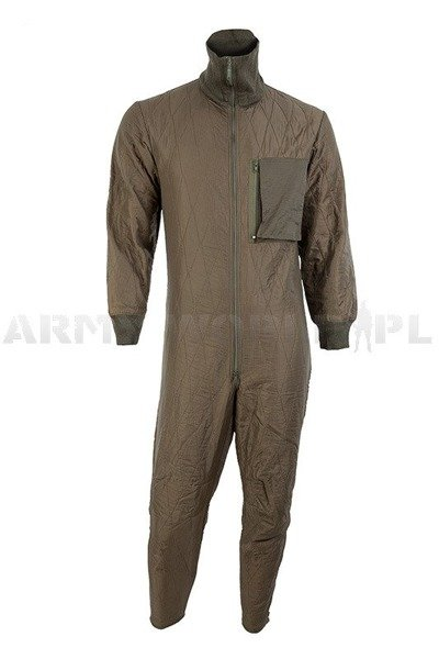 Military Liner Bundeswehr Liner To Wear Under Suit Original Demobil Set of 10 pieces
