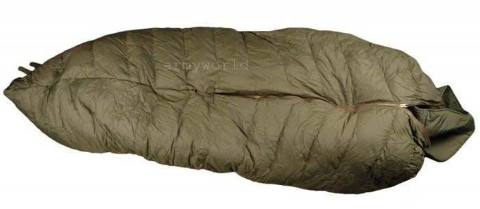 Military Modular Downy Sleeping Bag Bundeswehr Winter Version Up to - 40 Degrees Celsius Original New