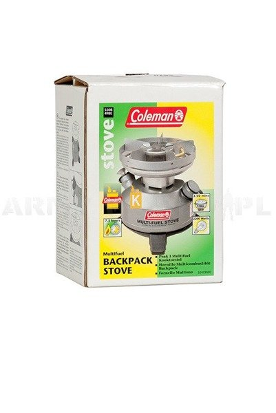 Military Multi-Fuel Stove Coleman 550B Original Used