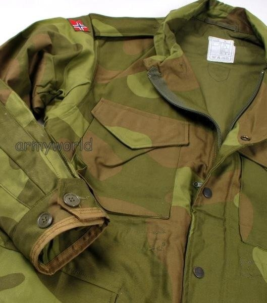 Military Norwegian Parka Jacket Original New