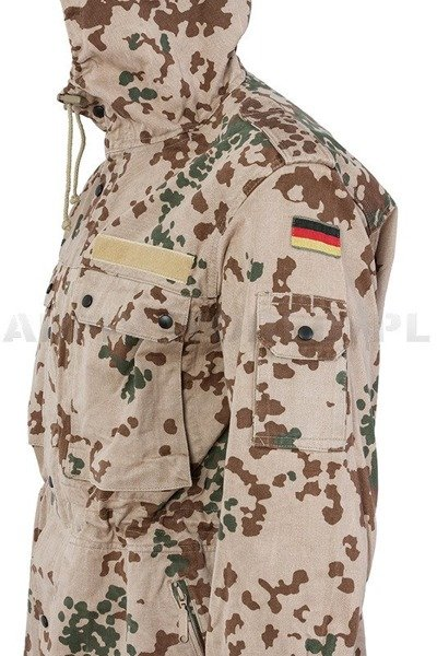 Military Parka Jacket Desert Bundeswehr Original Demobil
