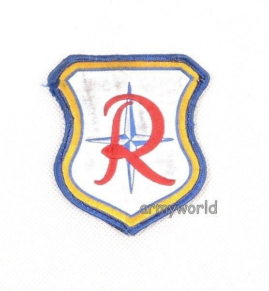 Military Patch NATO AWACS R Original Demobil