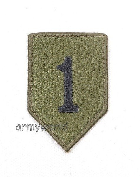"Military Patch US ARMY ""First Infantry Division"" Original Demobil"