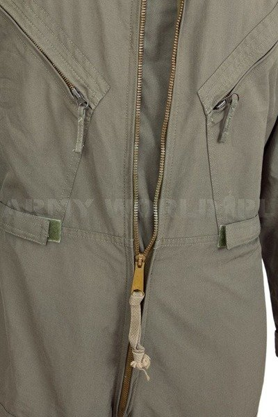 Military Pilot Coveralls Flame-retardant Dutch Army Oliv Used