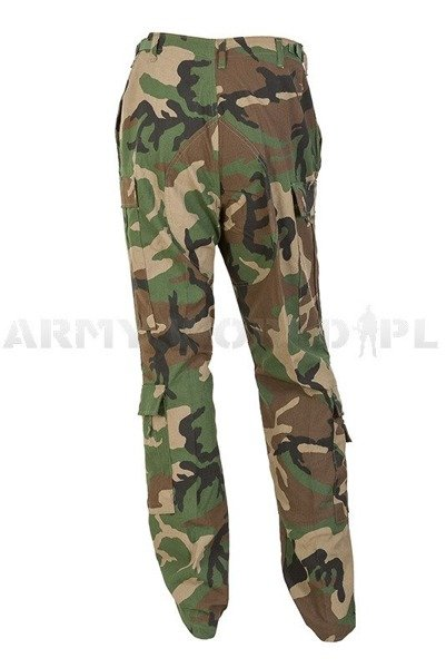 Military Pilot Trousers US Army Woodland Flame-retendant Original New