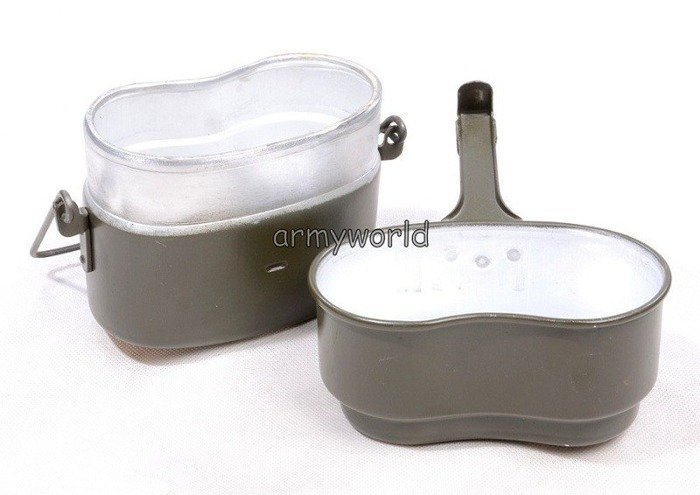 Military Polish Canteen 2-pieces Oliv Original Demobil