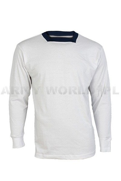 Military Polish Long sleeve Shirt 522/MON Original White New