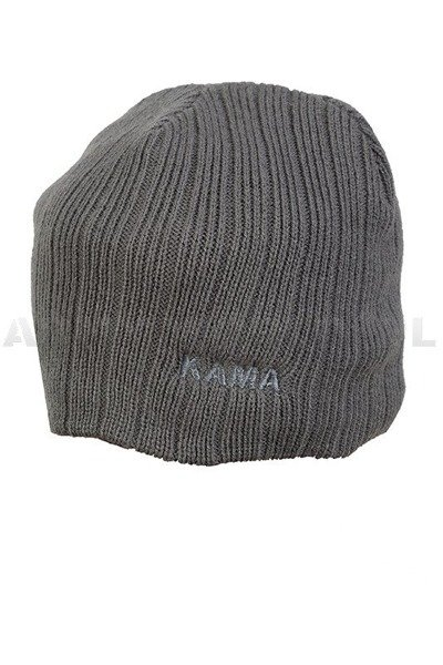 Military Polish Winter Cap KAMA Grey Original New