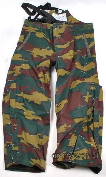 Military Rainproof Belgian Trousers Original New