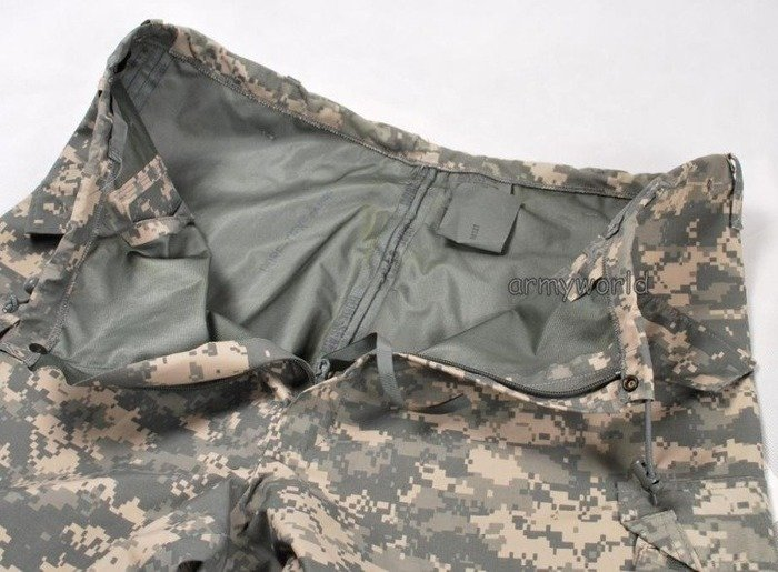 Military Rainproof Trousers US Army ACU Gore-tex Original New