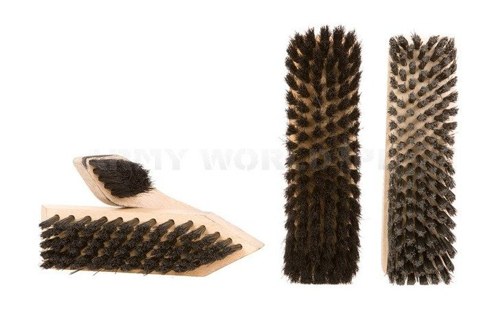 Military Set of Shoe Brushes  Bundeswehr Model II Original Used